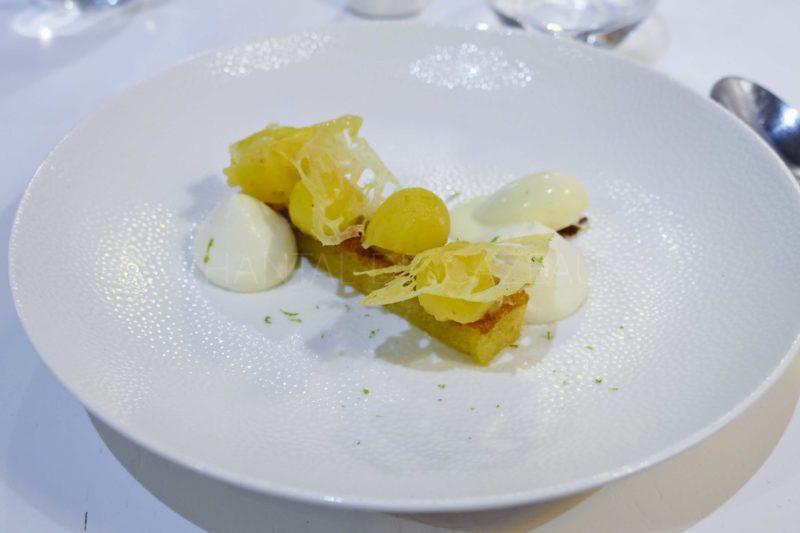 dessert ananas Soléna Bordeaux