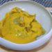 Ravioles foie gras / gambas, bouillon butternut marrons