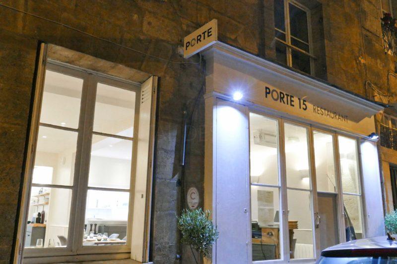 Restaurant Porte Quinze