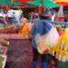 Bangkok et ses marchés: Klong Toei Market, marché aux fleurs