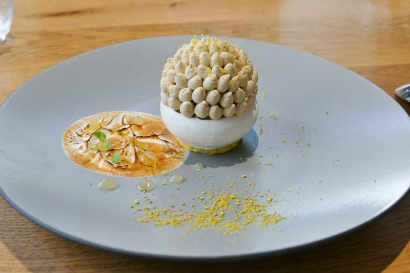 Dessert de Damien Amilien - Logis de la Cadène