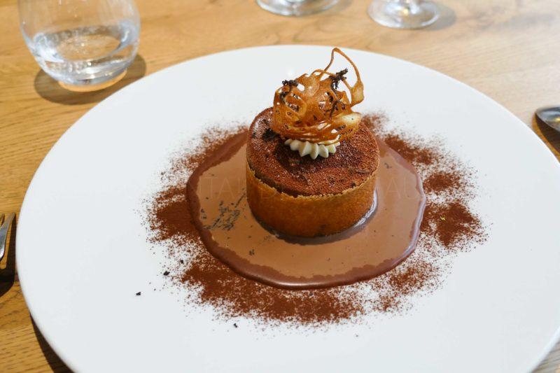 Dessert chocolat Logis de la Cadène - Damien Amilien