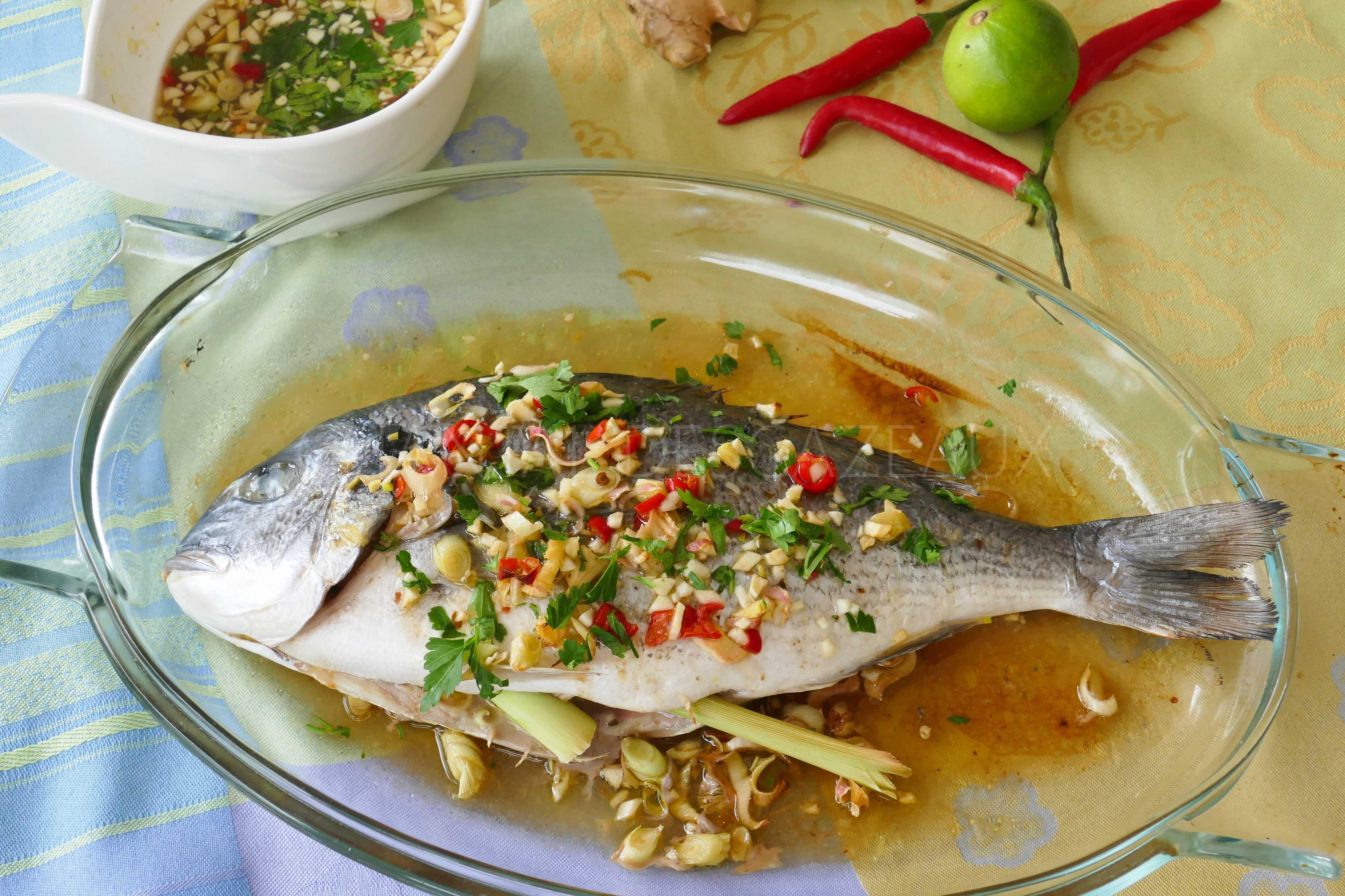 poisson recette thaïe