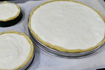 Tarte fromage blanc citron vert et gingembre