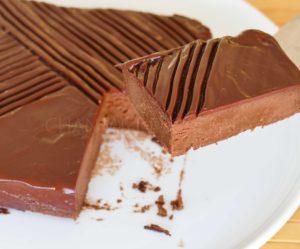 Gâteau chocolat mascarpone - Cyril Lignac