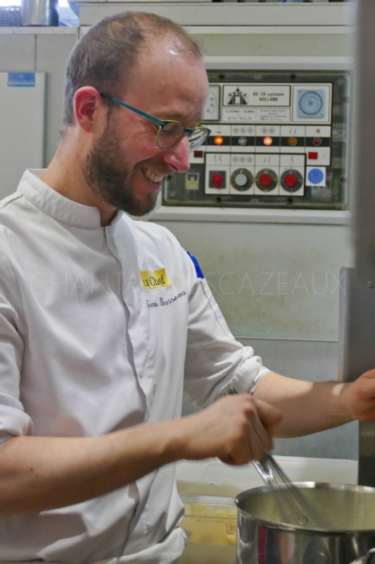 Chef Pâtissier Jérémie Bousseau Anne de Bretagne