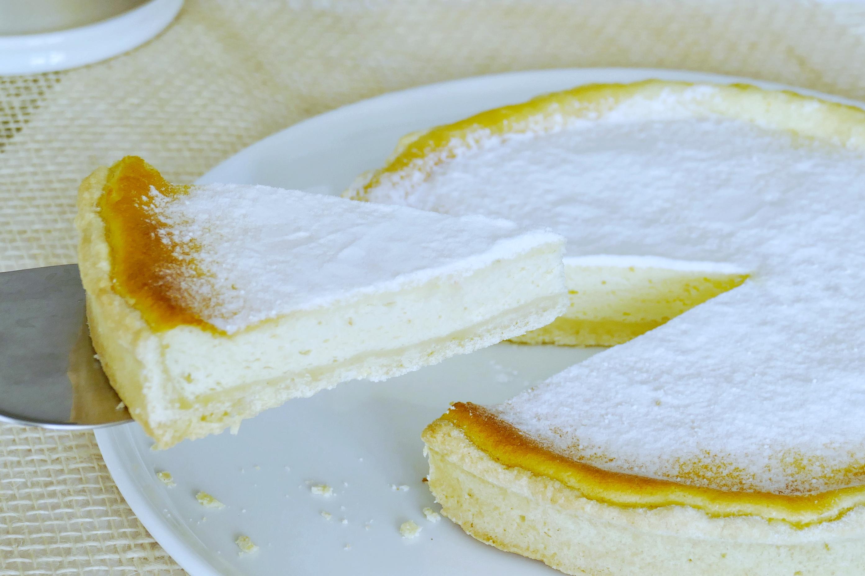 Tarte fromage blanc citron vert