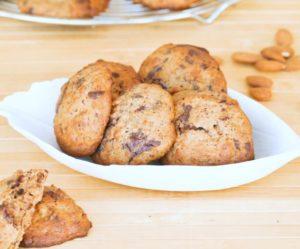Cookies banane chocolat noix