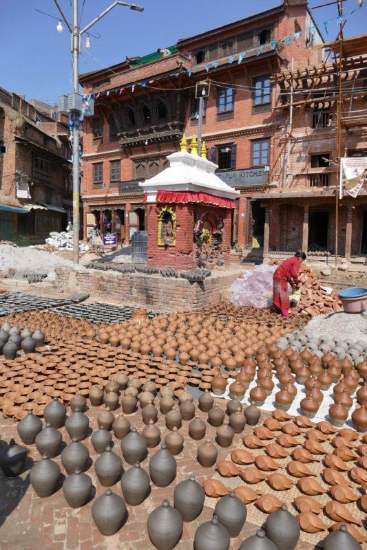 poterie Nepal