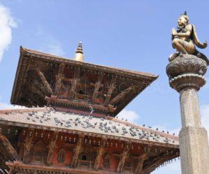Dans la vallée de Katmandou