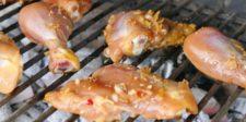 Poulet barbecue sauce Thaï
