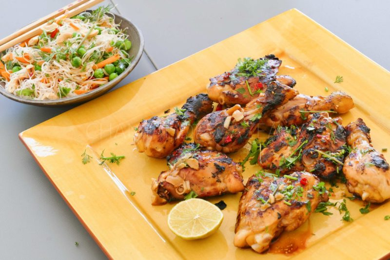 Poulet grillé façon thaïe