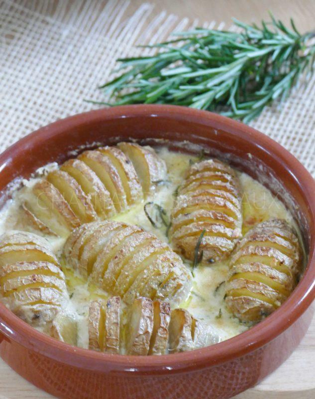 Recette Pommes de terre Hasselback Yotam Ottolenghi