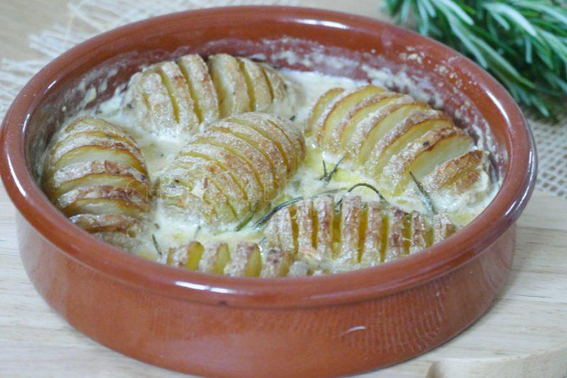 Pommes de terre Hasselback Yotam Ottolenghi