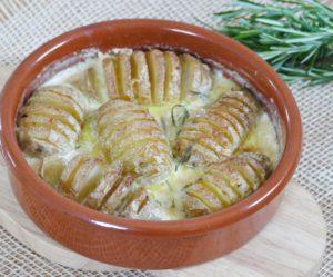 Pommes de terre suédoises Hasselback Yotam Ottolenghi
