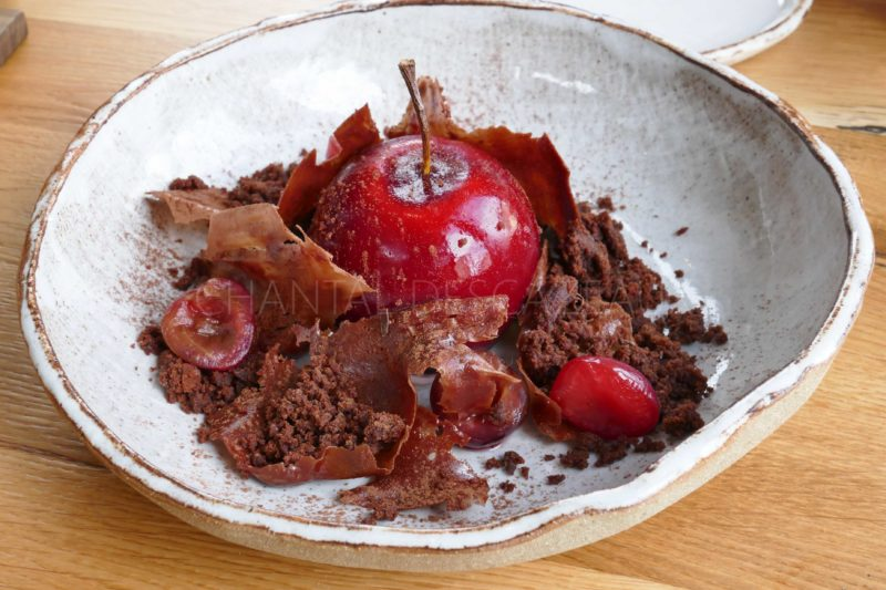 Dessert Forêt Noire - Restaurant Cent 33