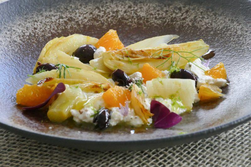 Fenouil confit à l'orange, Ricotta (1)