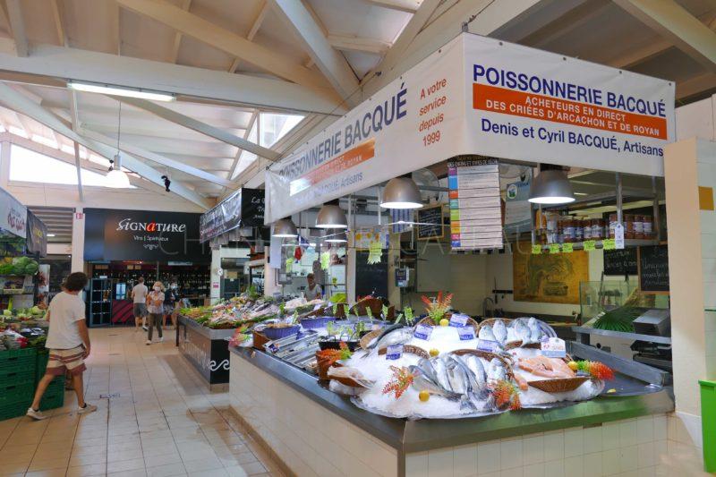 poissonnerie marché Cap Ferret