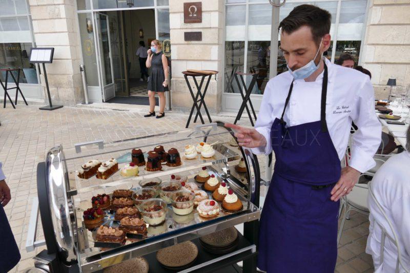 Damien Amilien Chef Pâtissier Gabriel
