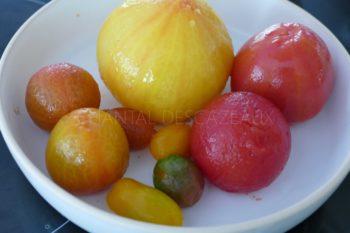 Comment émonder des tomates