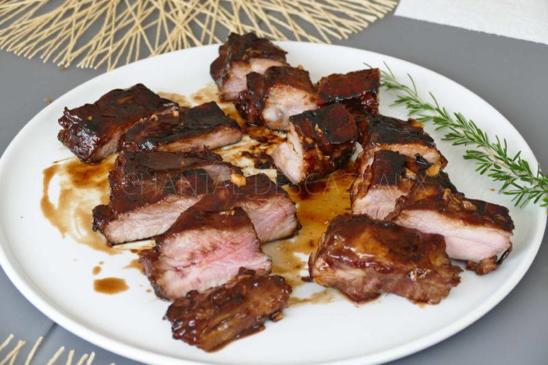 Spare ribs caramélisés
