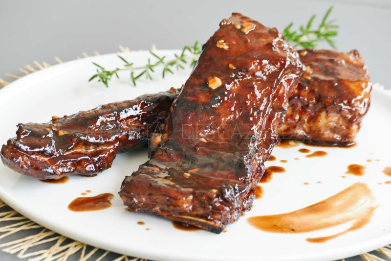 Ribs porc - Travers de porc au barbecue