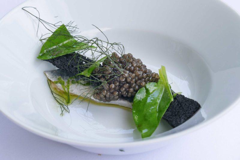 sardines caviar Pierre Gagnaire