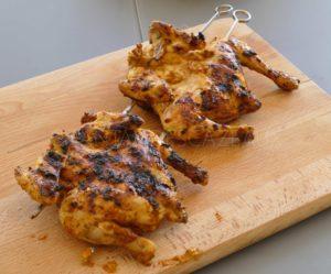 Poulet grillé au bbq à la portugaise - Poulet piri-piri