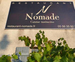 NOMADE - La gare réhabilitée en restaurant - Labarde