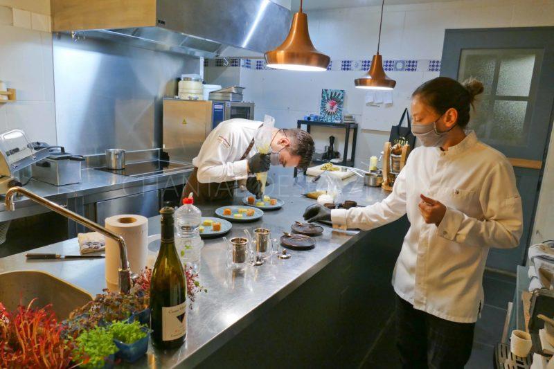 Thibault Guiet Manon Garret restaurant Nomade