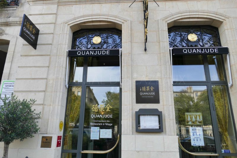 restaurant Quanjude Bordeaux