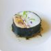 Recette Terre Mer d'Olivier Peyronnet (cabillaud, foie gras, dashi)