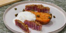 Patate douce, yaourt grec, thon (12)