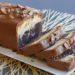 Cake marbré façon Savane, glaçage chocolat au lait