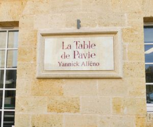 La Table de Pavie - Yannick Alléno