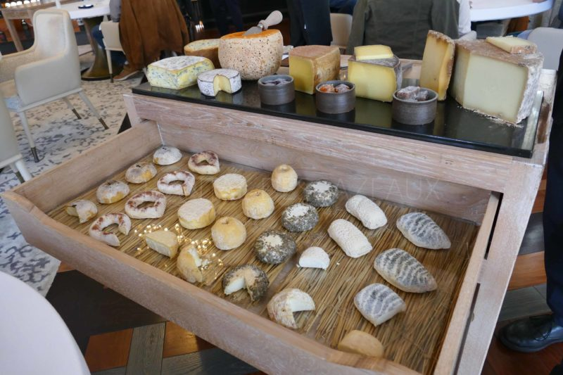 plateau de fromages table de Pavie