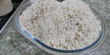Betterave en croûte de sel et sauce caviar