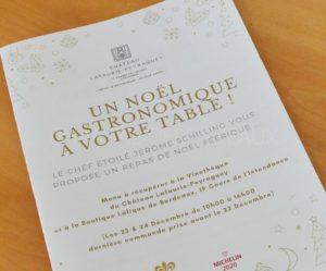 Menus et plats à emporter pour les fêtes en Gironde et Sud-Ouest