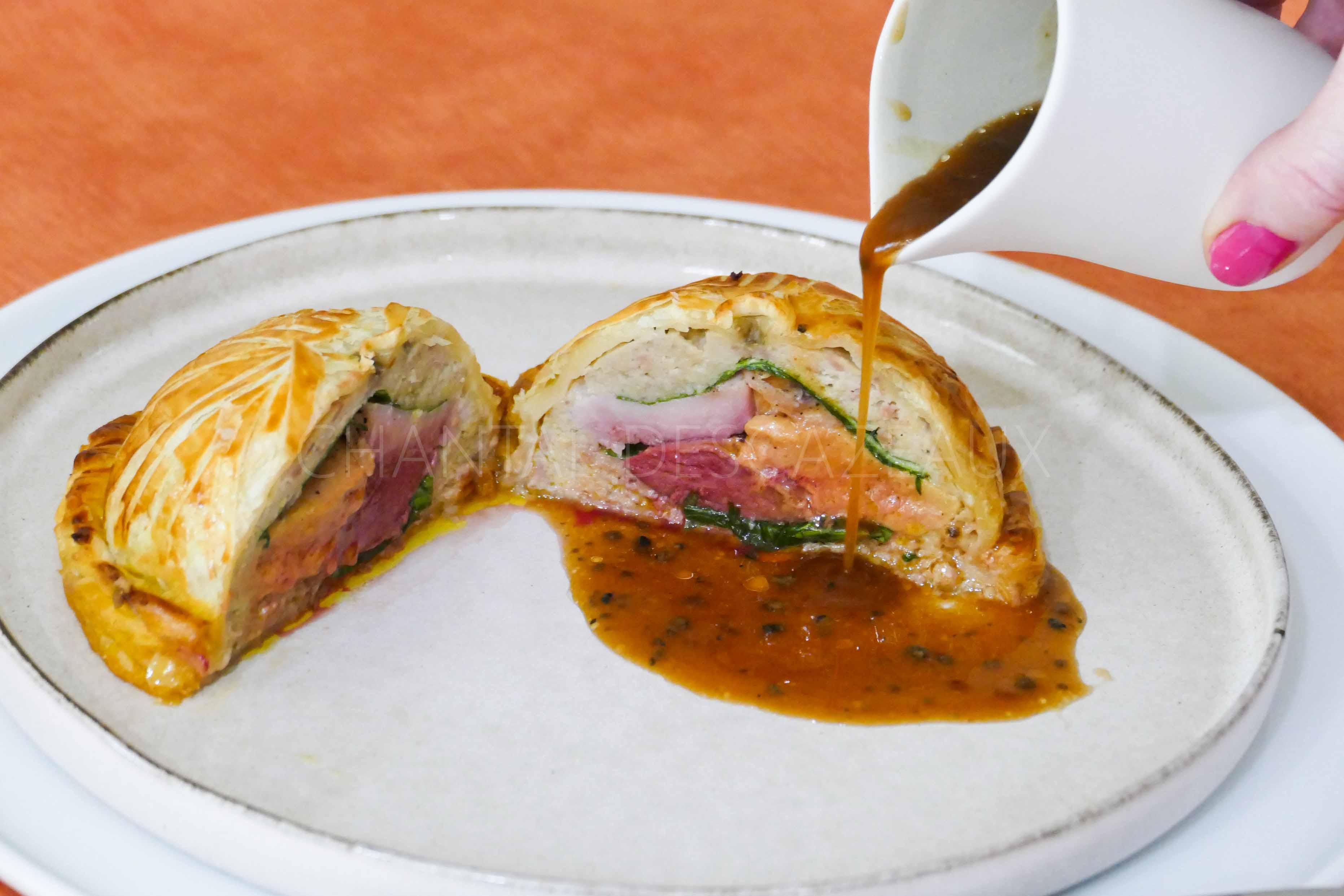 Pithiviers pigeon foie gras