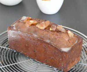Cake crème de marron et marrons confits - Recette Pierre Hermé
