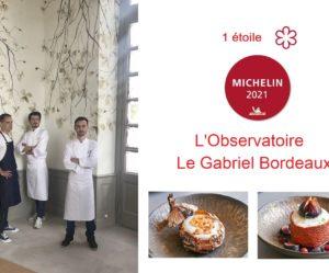 Une étoile Michelin pour Le Gabriel Bordeaux - Alexandre Baumard