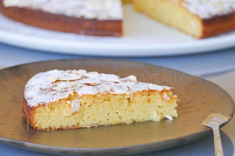 Gâteau aux amandes et fleur d'oranger , Christophe Michalak