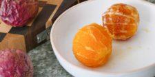 Oranges à vif