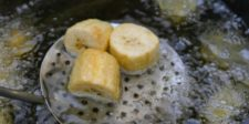Frire des bananes plantain
