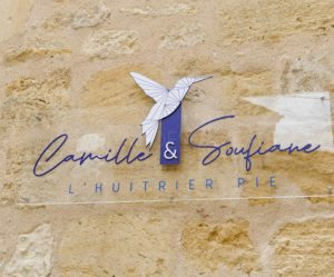 L'Huitrier Pie à Saint-Emilion : Camille Brouillard et Soufiane Assarrar